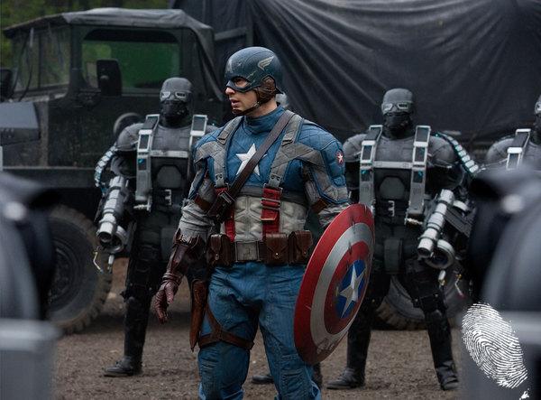 Капитан Америка: Първият отмъстител 3D