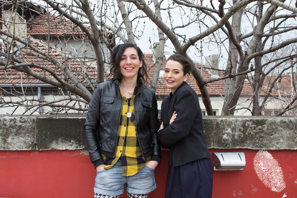 Неда Соколовска и Рада Езекиева