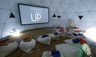 UP Outdoor cinema