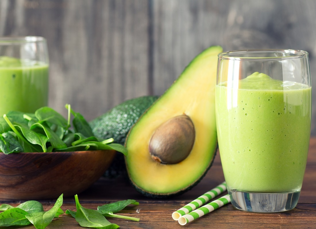 Spinache & Avocado Smoothie