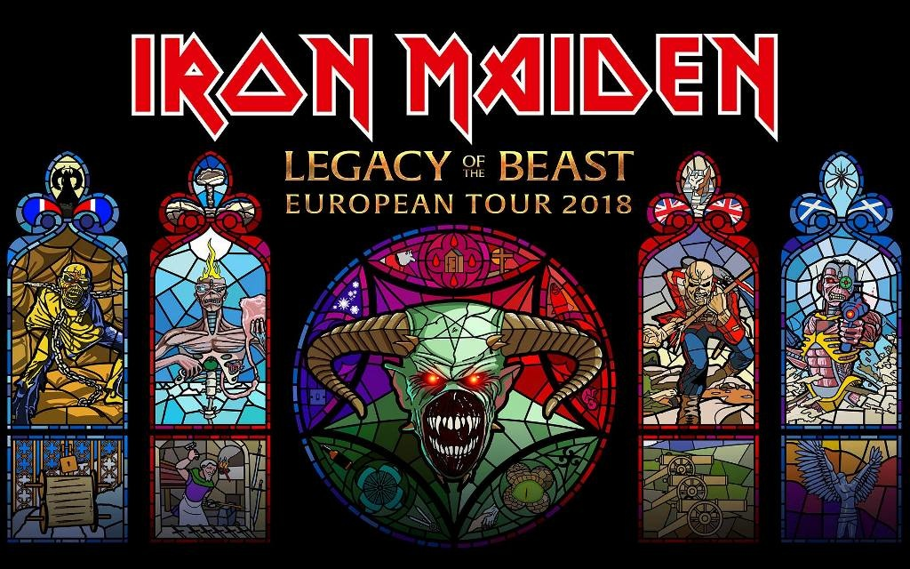 iron maiden legacy of the beast image